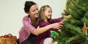 Family Decorating Tree