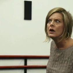 Kathryn Wheat confronts dance mom